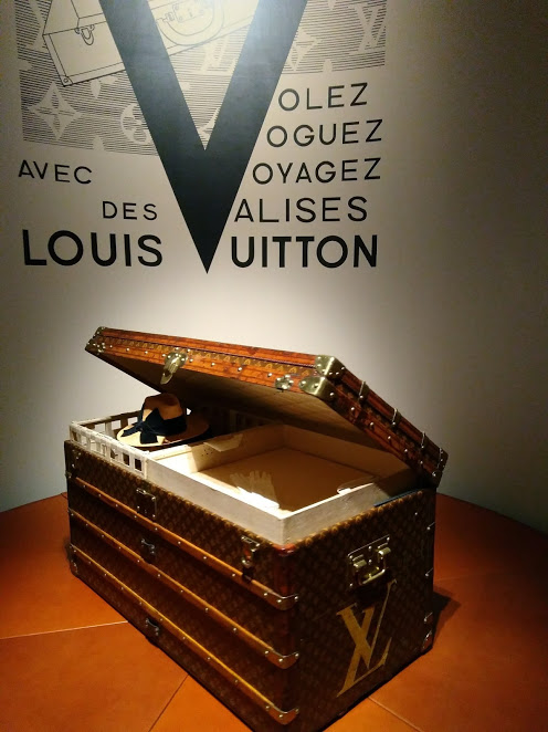 Did You Miss this in the Louis Vuitton Exhibition, Volez Voguez Voyager?