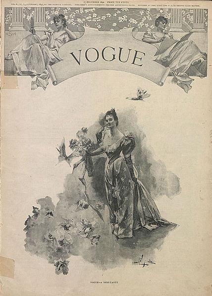 Vogue December 1892