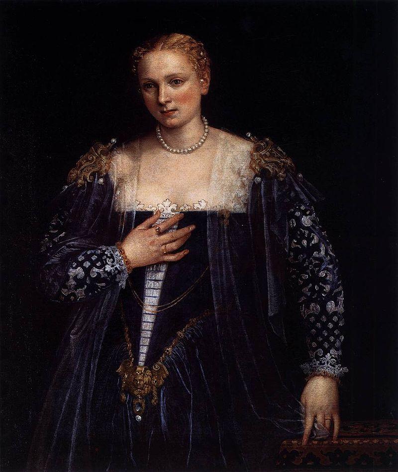 Paolo_Veronese_-_Portrait_of_a_Venetian_Woman_(La_Belle_Nani)_-_WGA24985