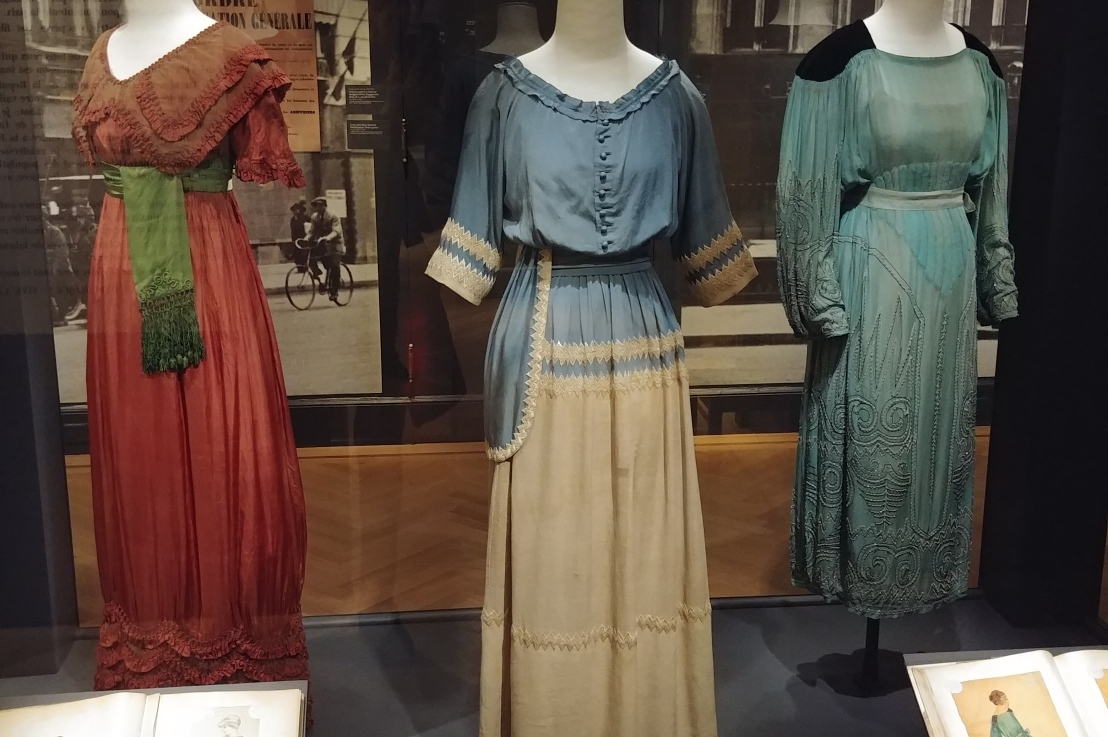 French Women, Fashion, and the First World War; Exhibit Review