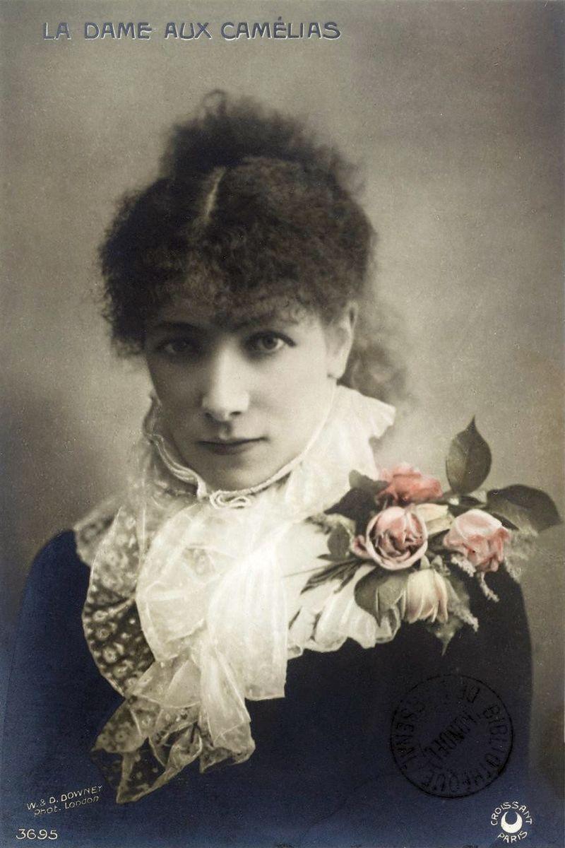 Sarah-Bernhardt-Camille-Postcard